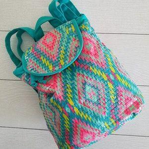 Girl's backpack purse